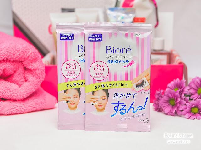Biore Салфетки для снятия макияжа: отзывы