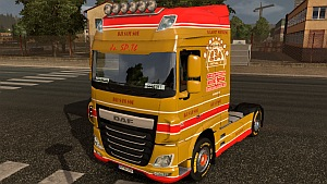 Dji Sam Soe skin for DAF Euro 6