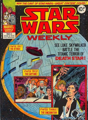 Star Wars Weekly #5, the Death Star