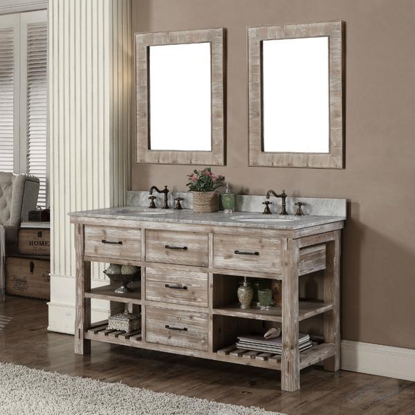 60 Inch Off White Bathroom Vanity bathroom trends