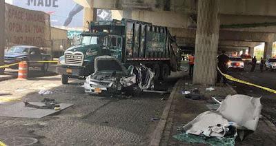 Niña de 4 años muere en accidente con camión en El Bronx