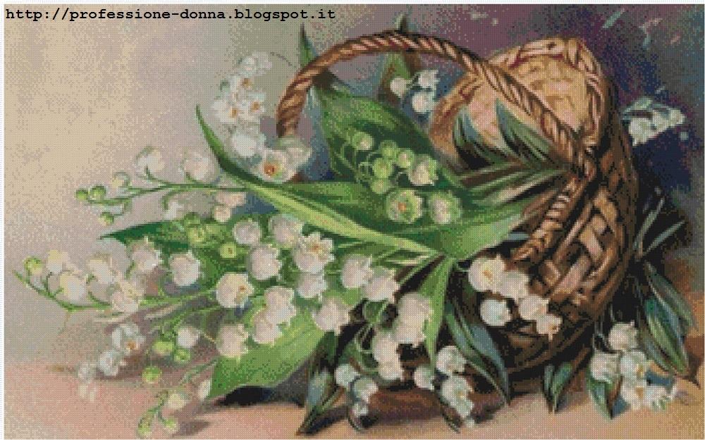 Professione donna schemi punto croce 20 fiori in offerta - Schemi animali stampabili ...