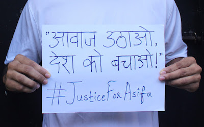 Cover Photo: Aawaaz uthao, desh ko bachao! - Ronak Sawant - Justice for Asifa