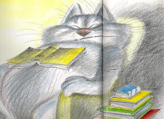 Кот-библиофил