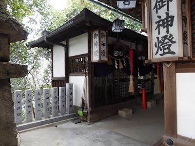 星田妙見宮 拝殿