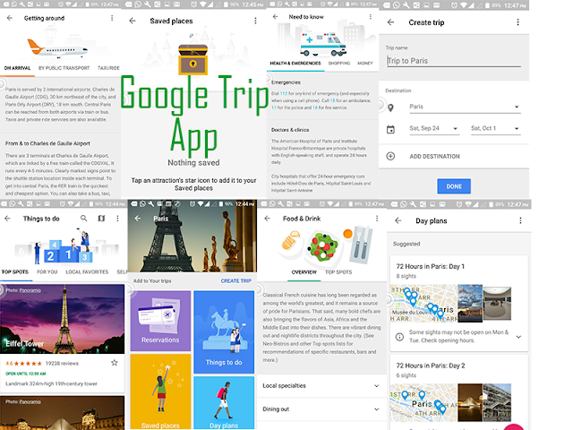 Google-Trip-App