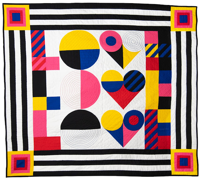 Love Love Love a quilt by Pachy Sarmiento-Bull