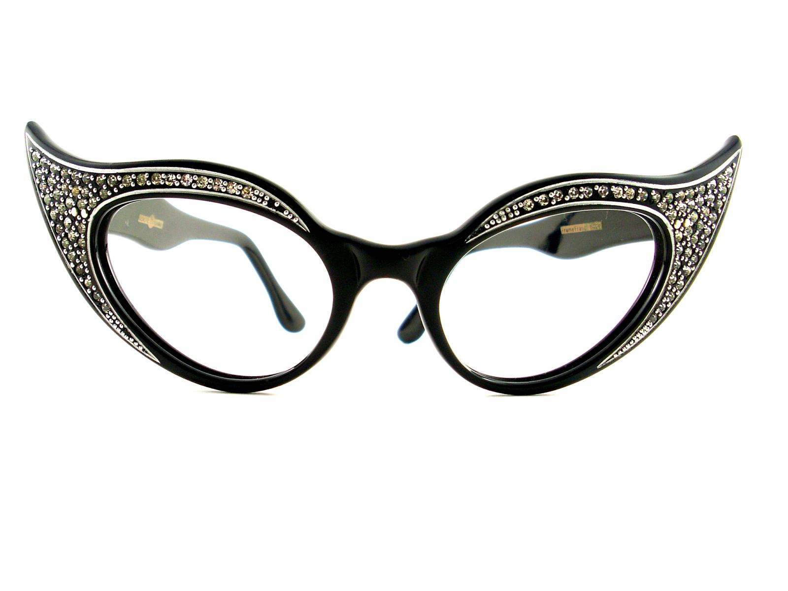 Vintage Cats Eye Glasses 42