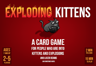 EXPLODING KITTENS (bomb in a box)