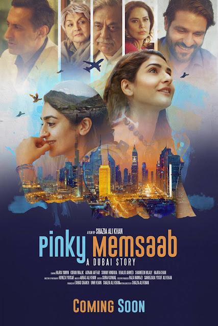 Pinky Memsaab, Poster