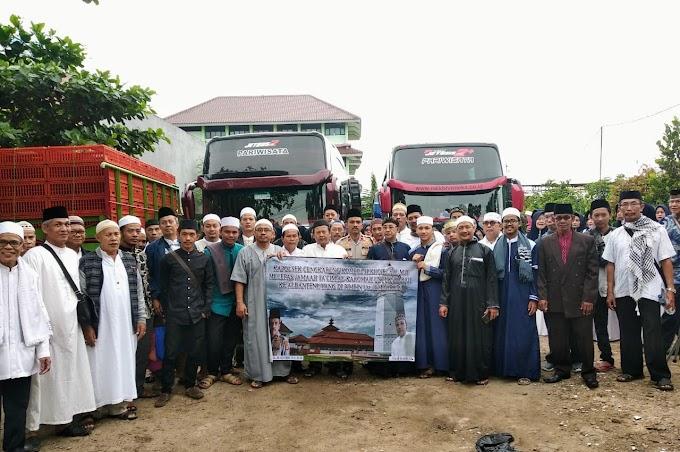 Kapolsek Cengkareng Melepas Rombongan Ziarah Ke Provinsi Banten