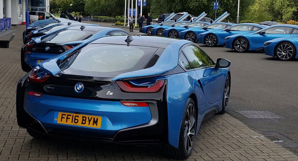 Leicester City Chairman Spends $2 Million, Gives Premiership Champions BMW i8s