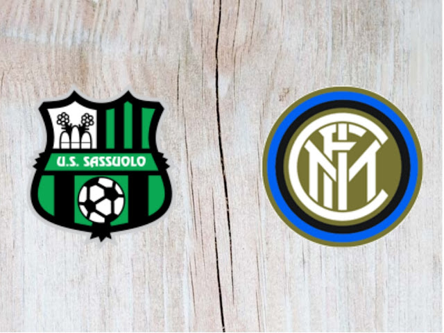 Sassuolo vs Inter Milan Full Match & Highlights - 19 August 2018