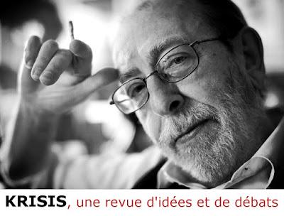 Krisis revue pluraliste de débats et d'idées, Alain de Benoist