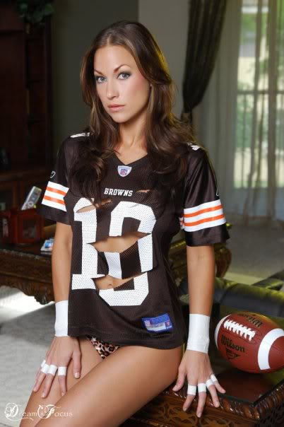 Cleveland browns sexy fans