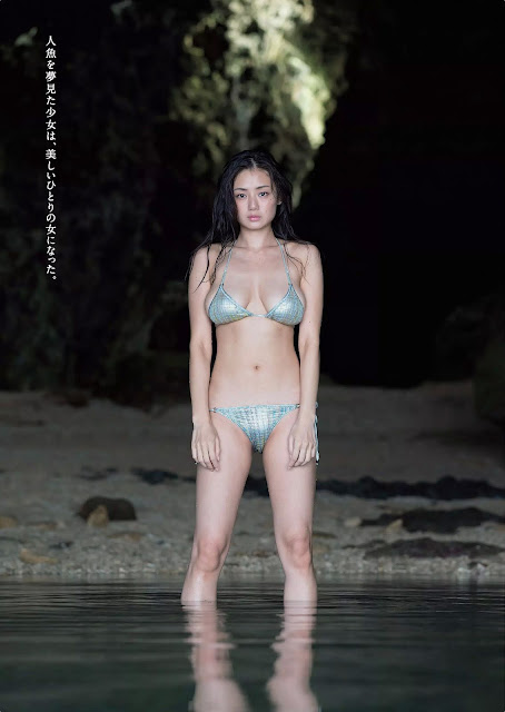 Moemi Katayama 片山萌美 Ningyo no Koi 人魚の恋 Photos 03