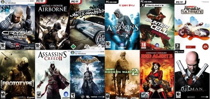 Download All Kind of PC Games