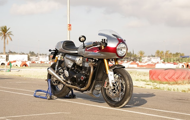 Triumph Thruxton By Tamarit Motorcycles Hell Kustom