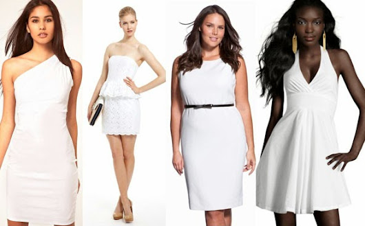 Style Watch: White Summer Dress