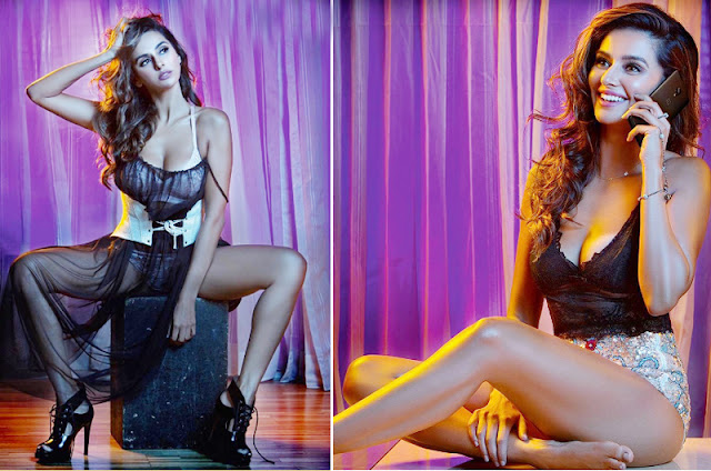 Shibani Dandekar Maxim India April 2017 Hot Stills