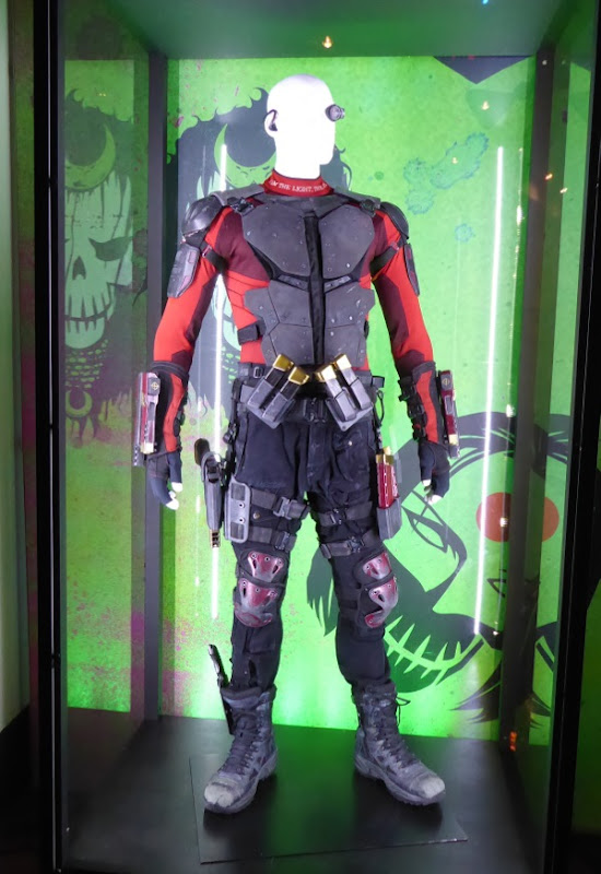 Will Smith Suicide Squad Deadshot film costume