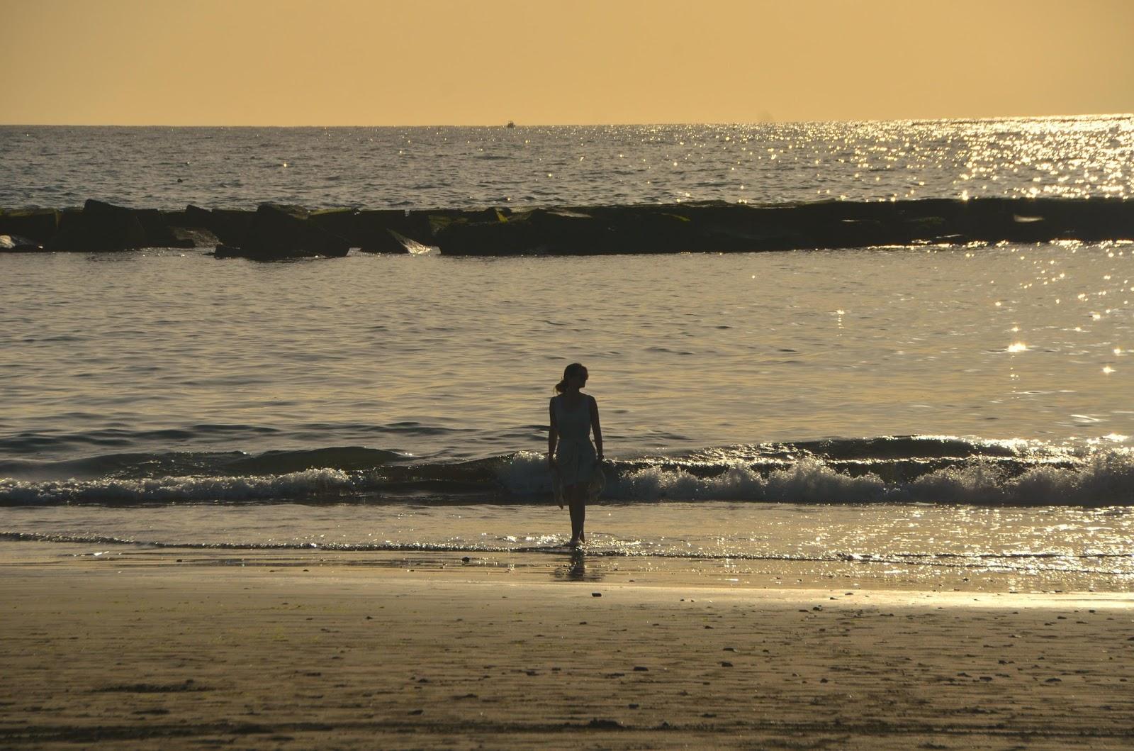 Teneryfa Costa Adeje zachód słońca