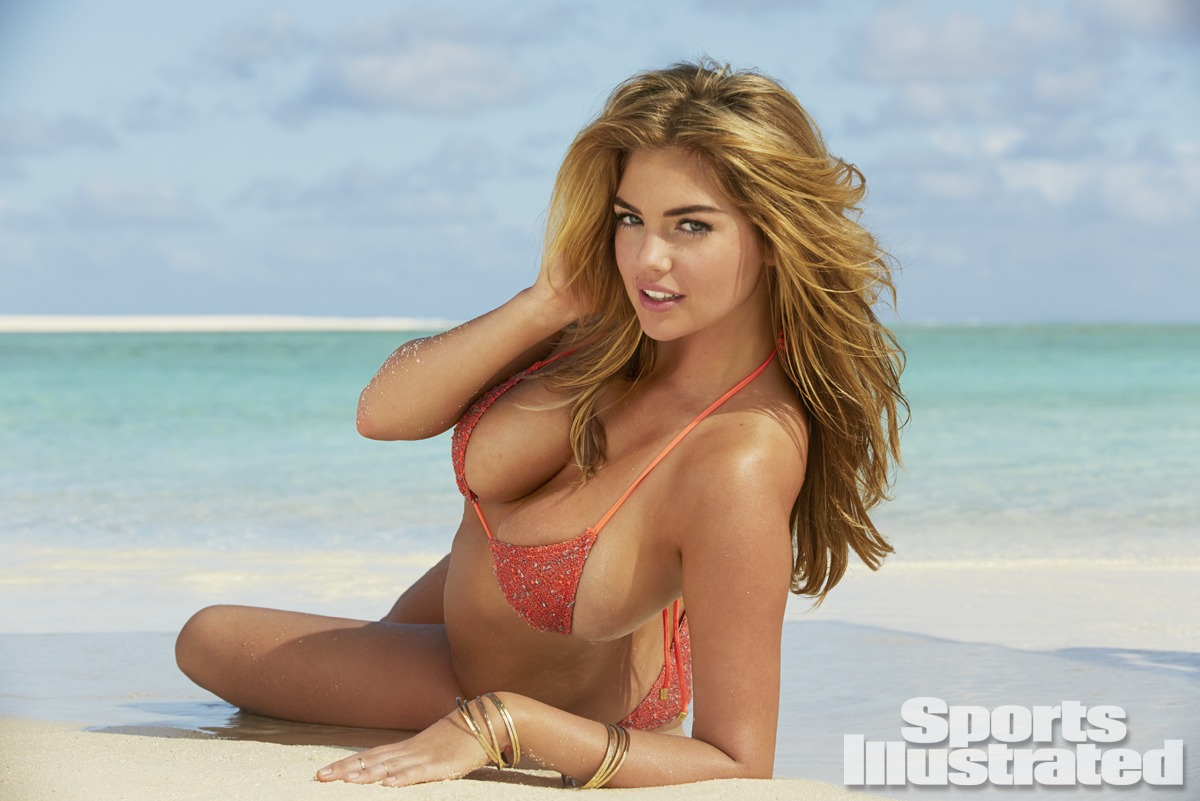 Kate Upton in Peggy Li Creations rings Sports Illustrated