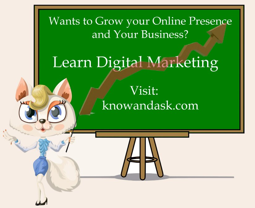 Digital Marketing - Know And Ask