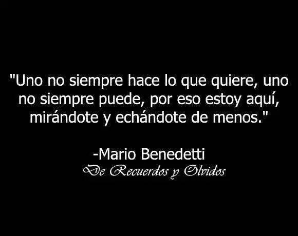 """""""Uno no siempre hace lo que quiere, uno no siempre puede, por eso estoy aquí, mirándote y echándote de menos."""" Mario Benedetti - Hombre preso que mira a su hijo"""