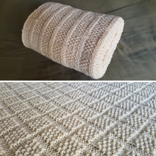 Lattice Baby Blanket - Free Pattern