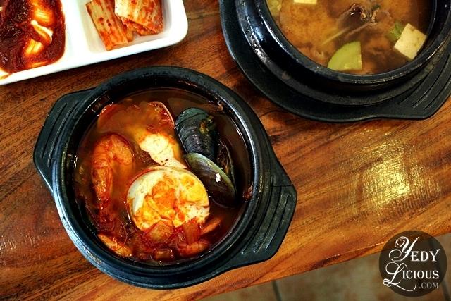 Sundubu Jjigae (Kimchi Soft Tofu Stew)