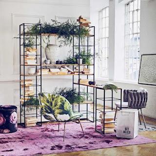 Botánico de estilo de la oficina en casa