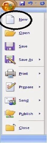 fasilitas new pada office button