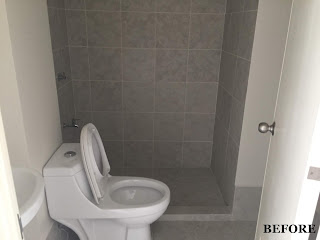 Bare Toilet and Bath Studio unit in Amaia Steps Mandaue