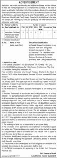 Assam Audit Local Fund Junior Assistant jobs Recruitment