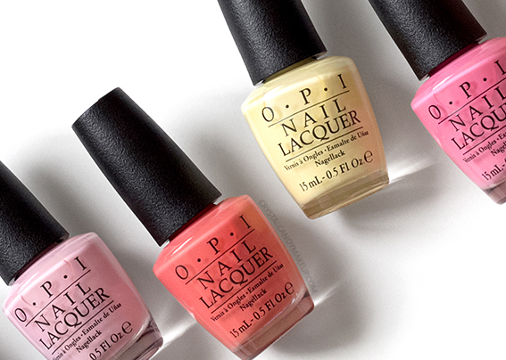 OPI Retro Summer 2016 Collection Nail Lacquers Review Photos