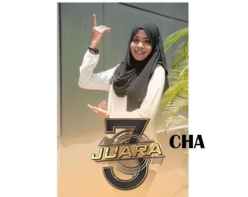 biodata Cha peserta 3 Juara TV3, biodata 3 Juara TV3 Cha, profile Cha (Hidayah) 3 Juara TV3 2016, profil dan latar belakang Cha (Hidayah) 3 Juara genre irama malaysia, gambar Cha 3 Juara TV3