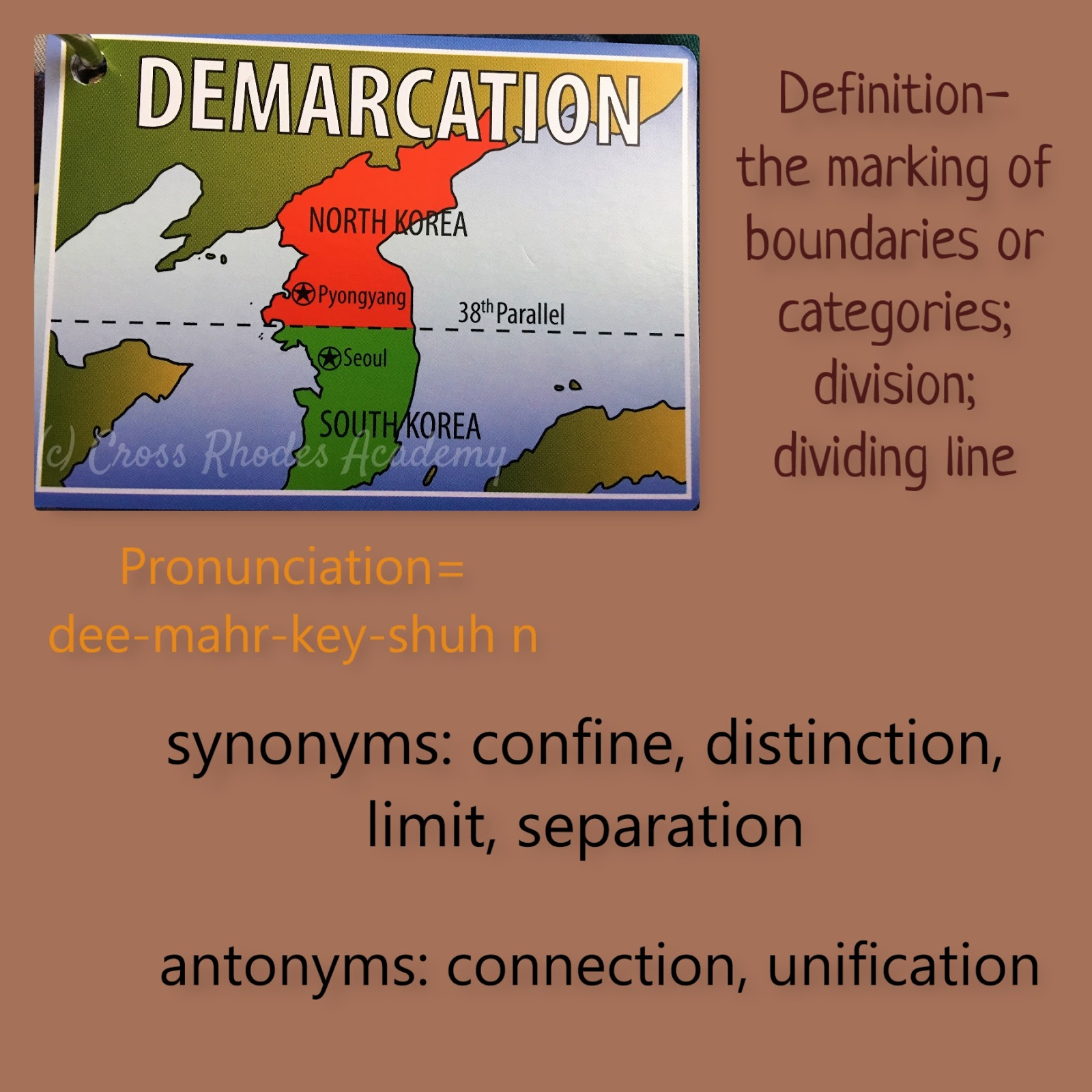 Cross Rhodes Academy: Demarcation~