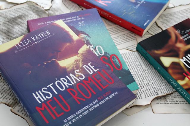 Histórias de Meu Romeu - Starcrossed #3.5 - Leisa Rayven