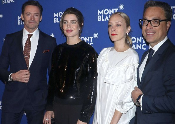 Montblanc's brand global ambassador, Charlotte Casiraghi attended the Montblanc Meisterstuck's The Little Prince at One World Trade Center