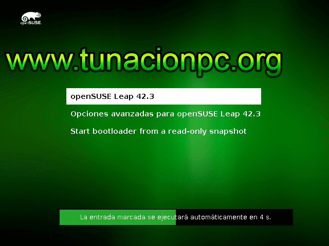 Descargar openSUSE