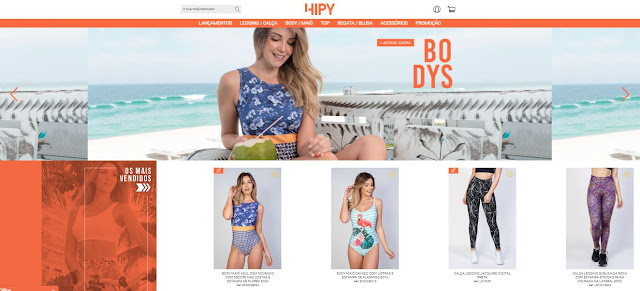 Hipy inaugura e-commerce no mercado da moda fitness