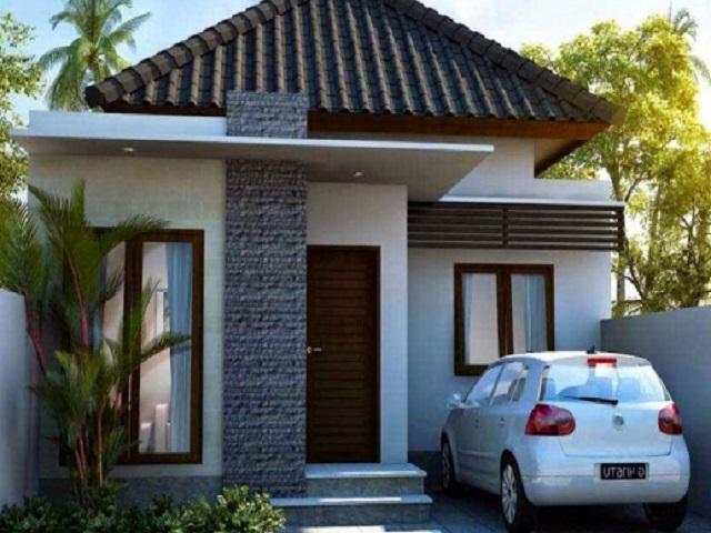 Desain rumah Hunian Jenis Minimalis Dengan Memakai Satu Lantai