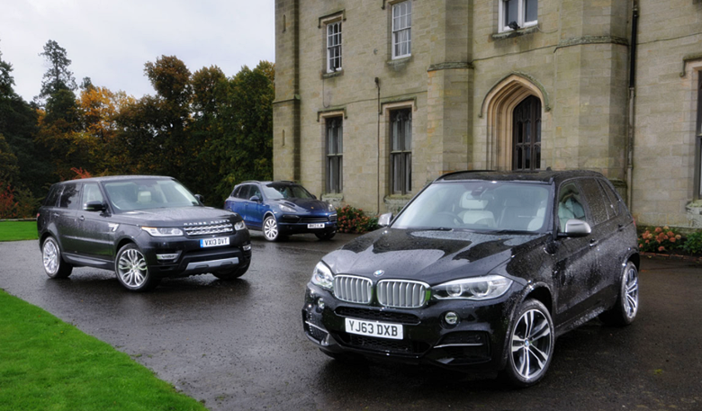 Range Rover vs BMW X5