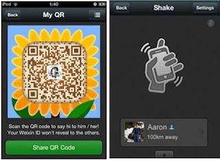 Store Of My Stories: Chatting di Smartphone dengan WeChat