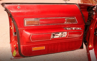 1973 Oldsmobile 98 Luxury Sedan Door Interior