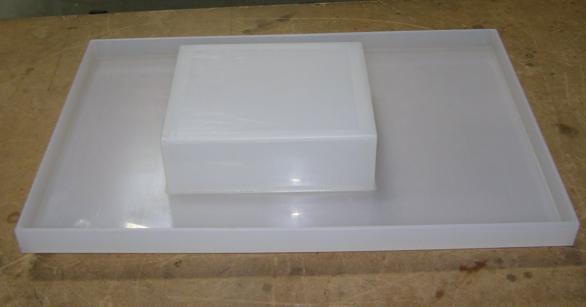 Non Metallic Solutions Inc Pp Drip Tray With Pump Mount