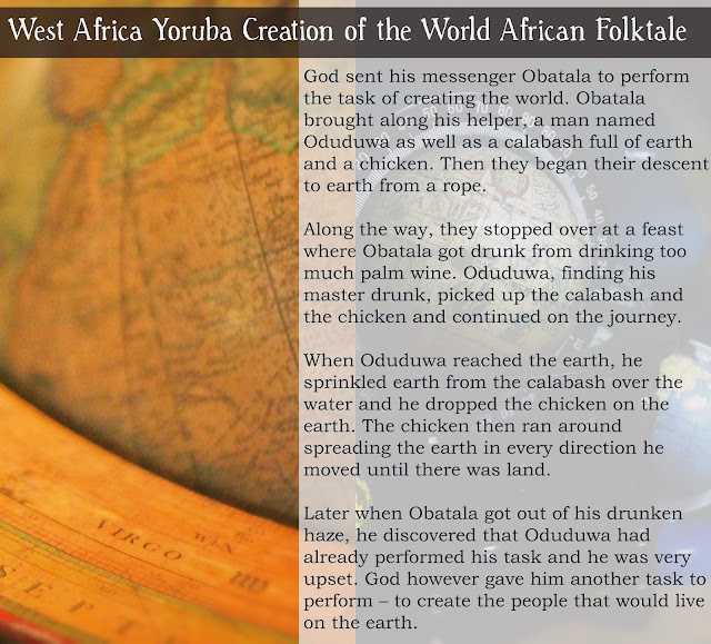 The Yoruba city of Ile-Ife has a powerful religious significance as the site of the earth's creation according to Yoruba mythology.