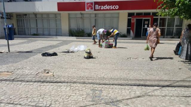"""MAIS UM: Homem é vítima de """"saidinha"""" de banco em Alagoinhas"""