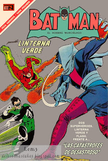 Linterna Verde en Batman Novaro 361